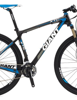 Giant say their new XtC Composite 29er frame is purpose-built for racing but should also be suitable for more technical trail rides and all-day marathon events