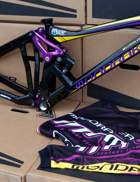 Special edition Mondraker Summum Pro Team frames are now available in the UK