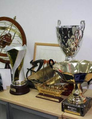 Some of the spoils from the last two seasons