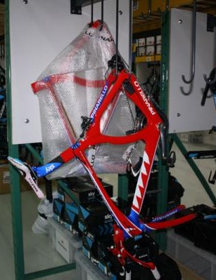 Edvald Boasson Hagen's spare time trial bike