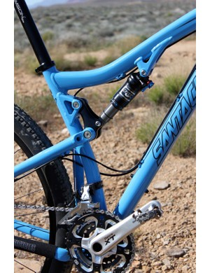 The new Tallboy uses the same VPP suspension as the original carbon model