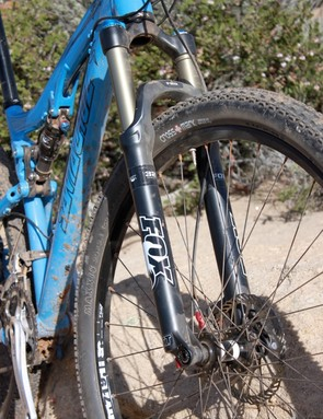 After riding the new bike with Fox's 120mm fork, we actually prefer it to a 100mm model on the Tallboy