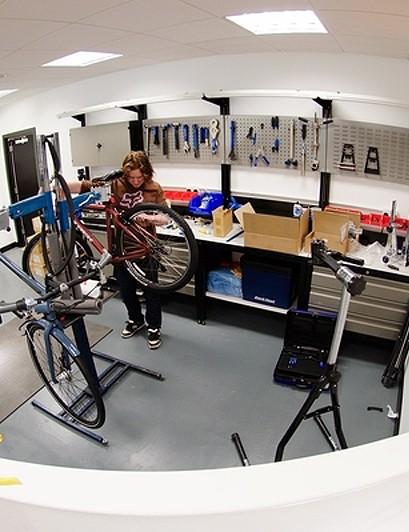 Trek Milton Keynes servicing and repairs workshop