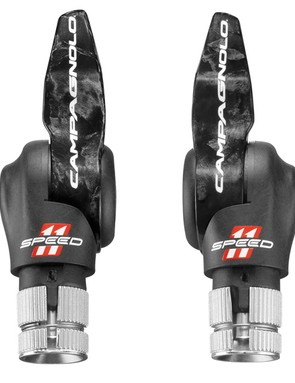 Campagnolo 11-speed carbon time trial bar-end shifters