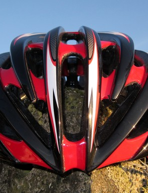 Vents and internal channeling on the Aeon are set in a more linear orientation front-to-rear for what Giro claims is better airflow across a rider's head when they're in motion.