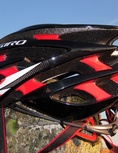The Aeon may be a new helmet but Giro has used similar styling elements in its shape so it's still