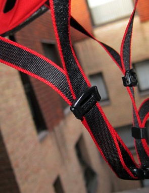 The ultralight webbing is borrowed from the Prolight but the Aeon supplements it with adjustable sliders.