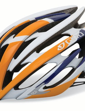 Giro will also offer the Aeon in three limited-edition finishes such as this Rabobank team version.