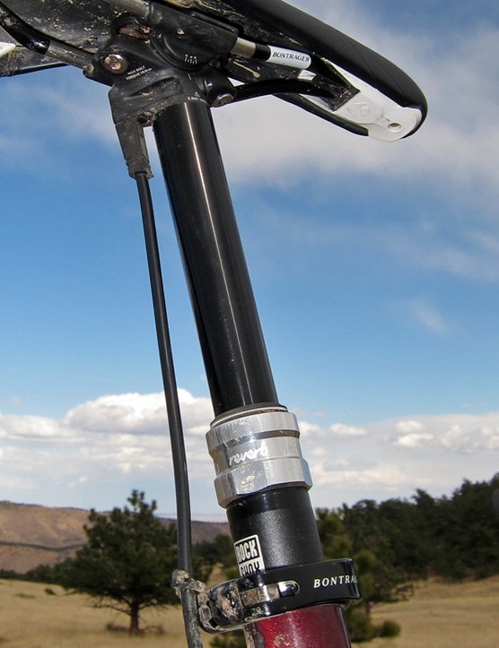 RockShox may be late to the telescoping seatpost market but it's hit the ball out of the park with the Reverb