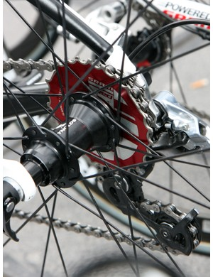 Ag2r is one of few SRAM-sponsored road teams that pass over the PG-1070 cassette in favor of the lighter Red model, which runs more loudly and is more prone to clogging with debris.