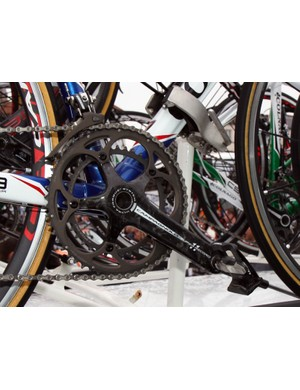Europcar is using Campagnolo Super Record groups on their Colnago C59s.