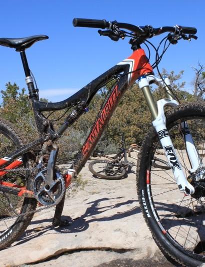 Santa Cruz's new Blur TRc 5in travel trail bike