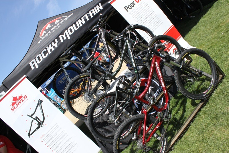Rocky Mountain launched their 2011 Slayer line at the 2010 Sea Otter Classic