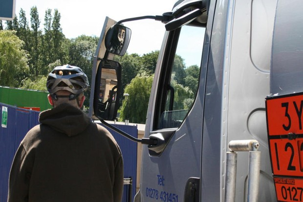 A London Cycling Campaign petition wants to stop death by lorry