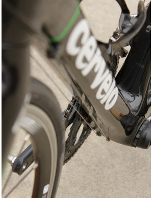 Cervelo's 'single bend' cable routing