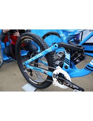 Shimano Saint wheels