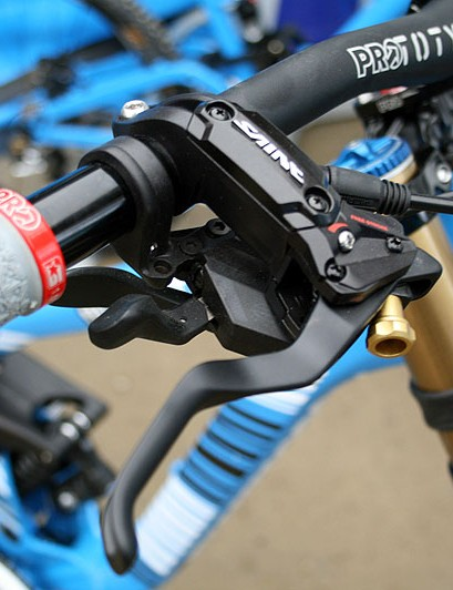 Shimano Saint brakes
