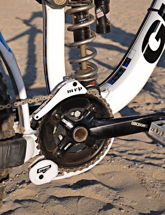 MRP's G2 SL surrounds a 38-tooth chainring