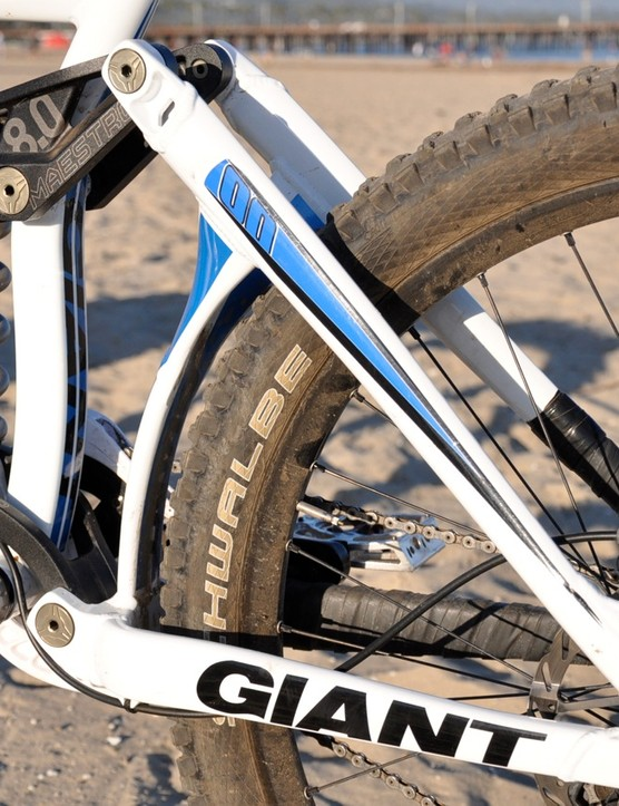 One of the few things that hasn't changed for the 2011 race season is the Glory's Maestro suspension design