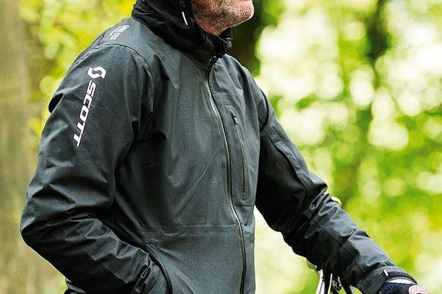 Scott Helium Paclite jacket