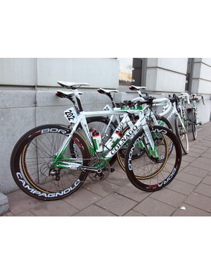 Europcar is on Colnago's C59 this season.