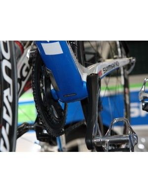 Skil-Shimano's Koga machines feature press-fit bottom bracket cups.