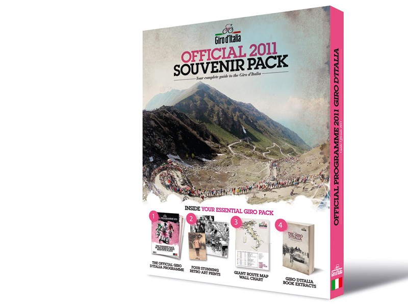 The Official Giro d'Italia Guide is on sale now