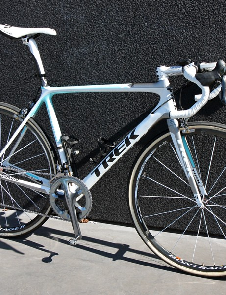 Fabian Cancellara (Leopard Trek) hopes his subtly modified Trek Madone 6-Series SSL will carry him to his third Paris-Roubaix victory.