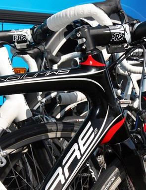 The new Lapierre Sensium WS features a tapered head tube