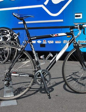 On the eve of Paris-Roubaix Frederic Guesdon still hadn't decided whether he was going to run one of FDJ's newer Lapierre machines or the several-seasons-old aluminum 'cross rig with which he's already very familiar