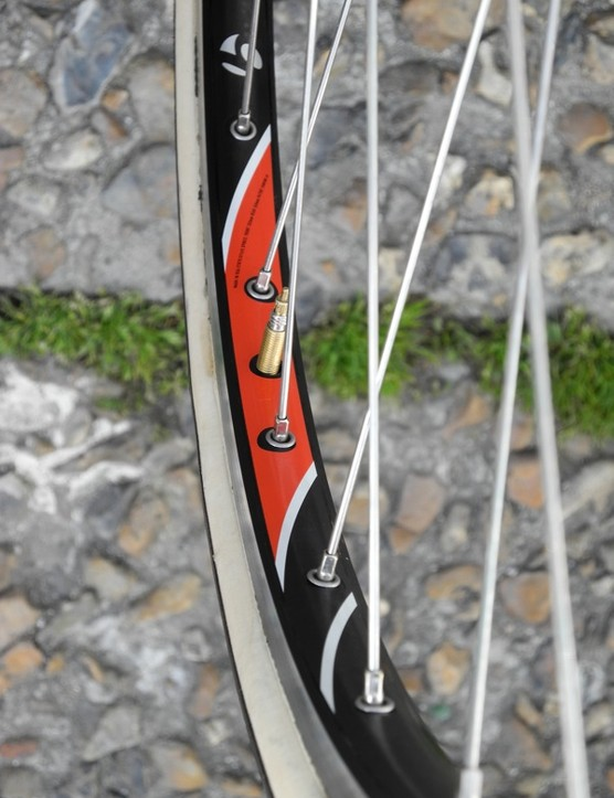 Stuart O'Grady rode Bontrager's Team Issue Classics tubular