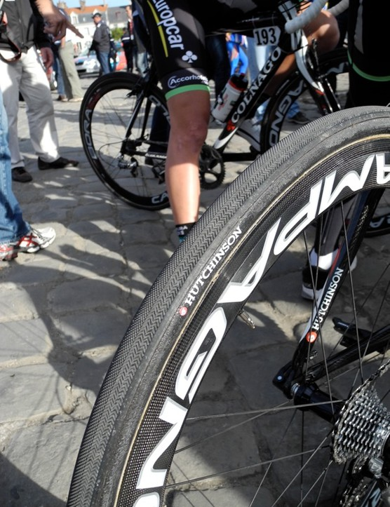 Hutchinson's super-aggressive Paris-Roubaix tire