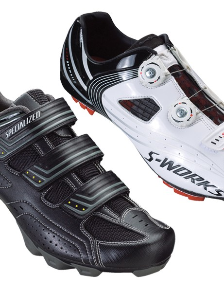 Specialized Sport vs S-Works mountain bike shoes