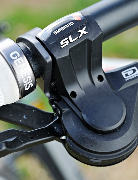 Shimano SLX gear shifter