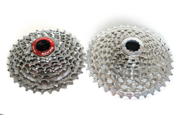 The bigger the range of gears you want, the larger the difference between each gear becomes