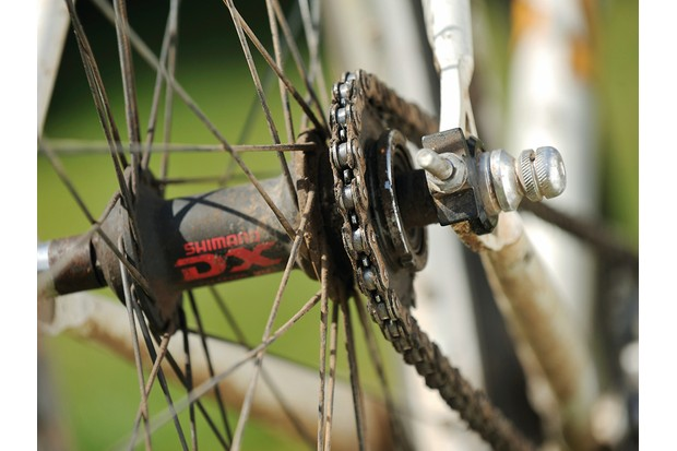 Some riders choose to go singlespeed for the ultimate in simple reliability