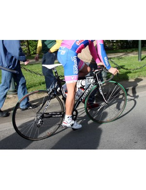 Lampre used these special aluminum Wiliers for Paris-Roubaix