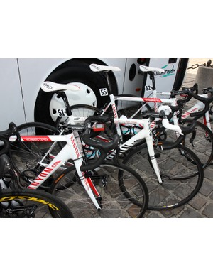 Andre Greipel (Omega Pharma-Lotto) used a Canyon Ultimate AL Pave on his way to his 21st place finish at Paris-Roubaix