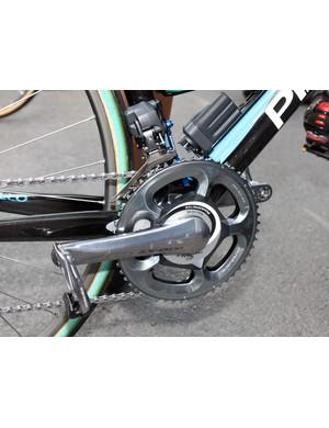 Juan Antonio Flecha (Sky) raced Paris-Roubaix with his SRM power meter