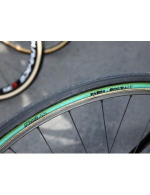 Juan Antonio Flecha (Sky) chose FMB's Paris-Roubaix tires