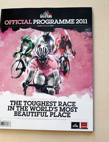 Giro d'Italia Official Programme 2011