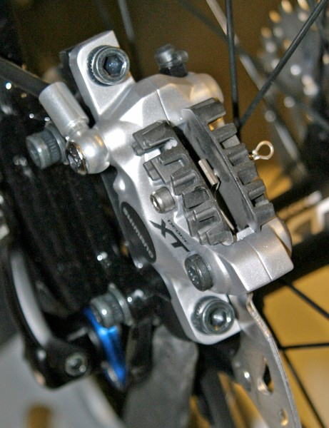 XT brakes get the cooling fins debuted on XTR last season