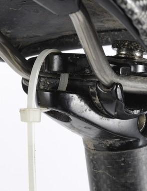 Broken seatpost clamp