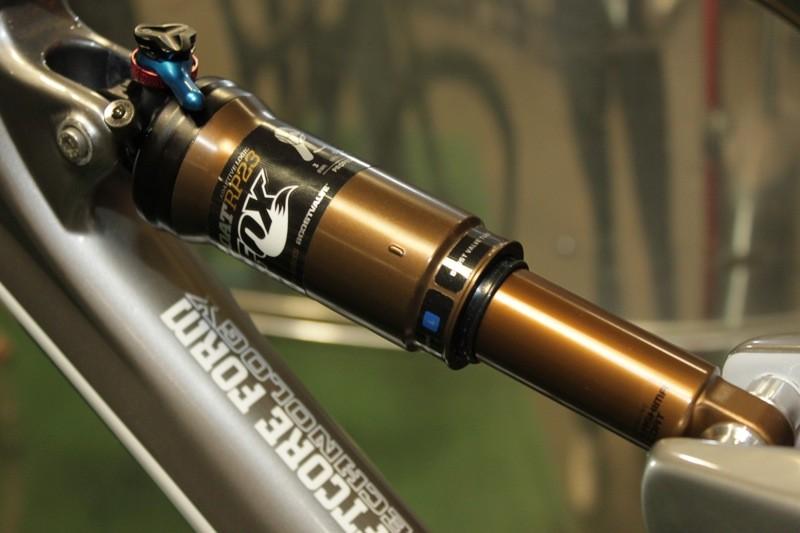 Fox Racing Shox's 2012 Float RP23 Boost Valve with Adaptive Logic shock