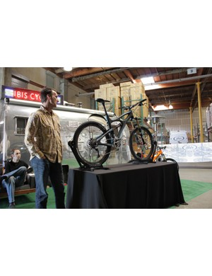 Ibis founder and co-owner Scot Nicol introduces his company's new bike