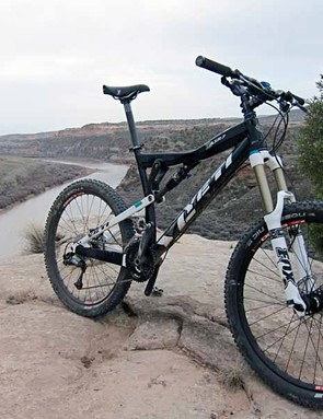 Yeti's AS-R 7 gobbled up even the most technical descents out on the trails of Fruita, Colorado