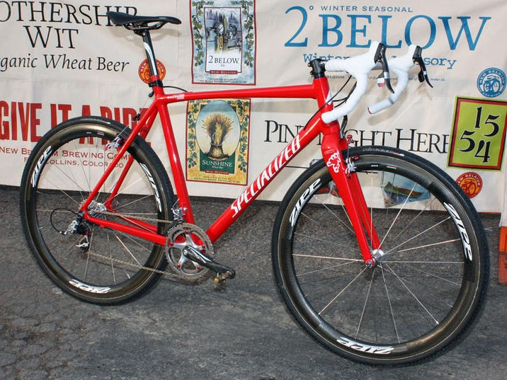 Todd Wells' Specialized Crux is up for grabs