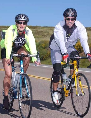 Riders enjoy the Colnago Gran Fondo San Diego