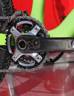 SRAM's new X0 Silver crank