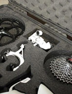 SRAM's Arctic White Apex group